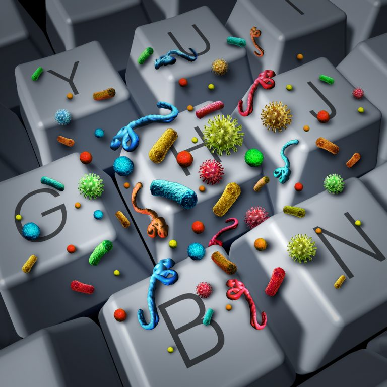 Keyboard with germs 768x768 1
