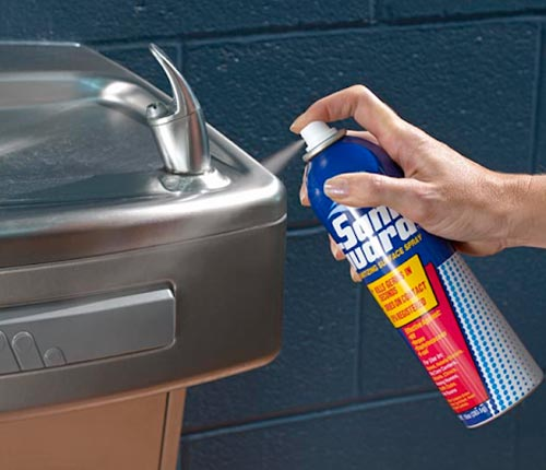 saniguard spray prod